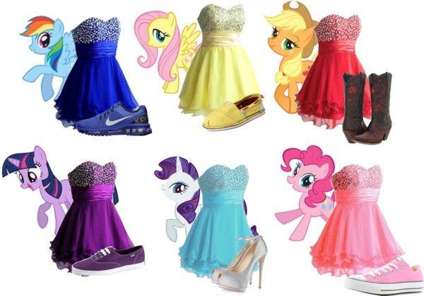 10+ My little pony dress information