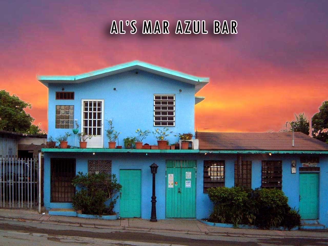 Al S Mar Azul Bar In Vieques Puerto Rico The Quintessential Hy Hour Location