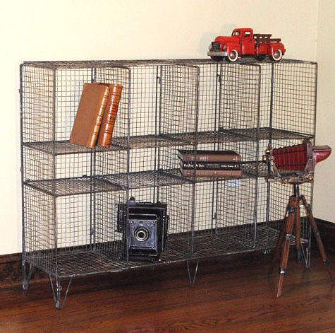 Metal Wire Bookcase: Despite the corny staging in this product photo, this  bookcase is - Metal Wire Bookcase: Despite The Corny Staging In This Product