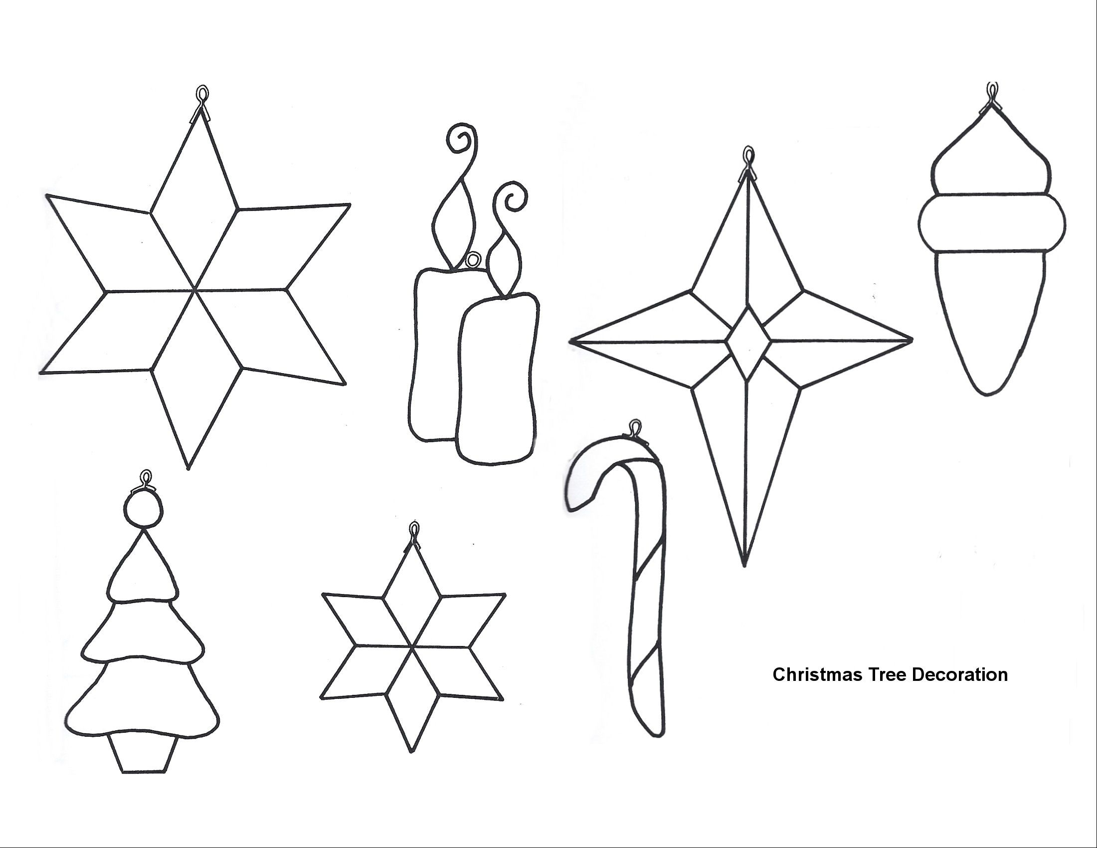 Free Printable Papercraft Templates Felt Christmas Patterns