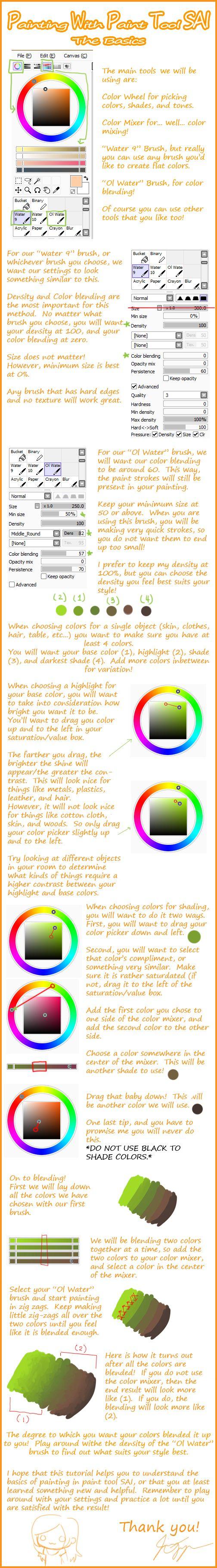 Logiciel de dessin paint tool sai