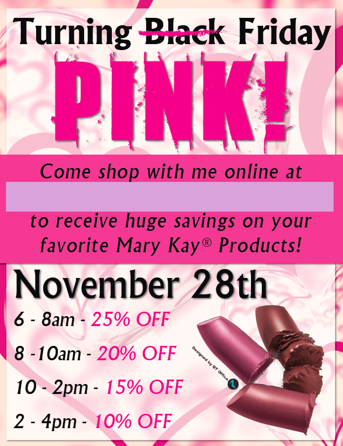 20e85408058 Mary Kay® Pink Friday Sale!! www.blog.qtoffice.com mary-kay-pink-friday-sale -idea