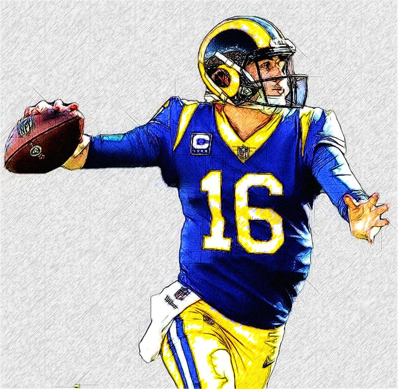 Rams football image by Mark Lopez on Sports American