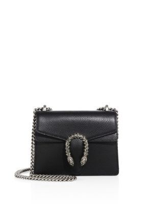 06a2303fe96b85 GUCCI Mini Dionysus Leather Chain Shoulder Bag. #gucci #bags #shoulder bags  #lining #suede #