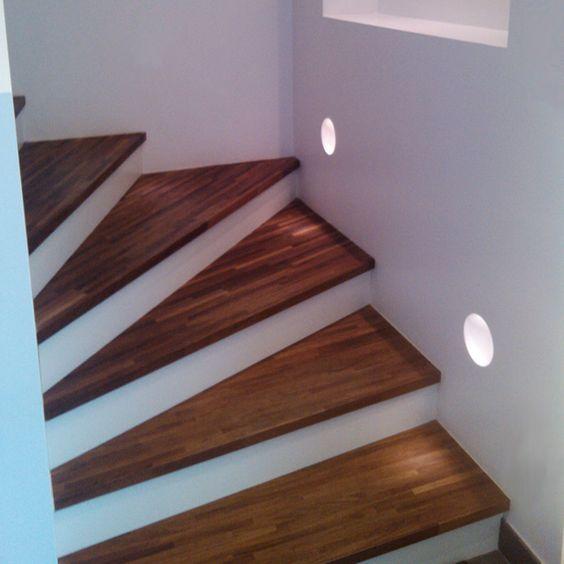eclairage escalier sedap sous sol pinterest. Black Bedroom Furniture Sets. Home Design Ideas