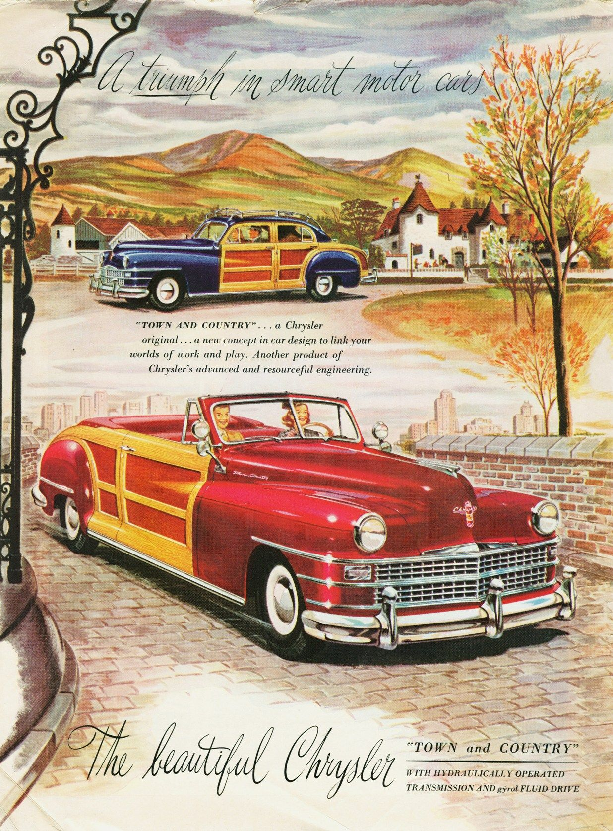 Chrysler Town & Country Classic Cars & Trucks Pinterest