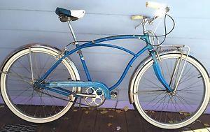 Vintage 1957 Schwinn Corvette Bicycle 3 Speed Serial Number C36748 Schwinn Bike Schwinn Bicycle