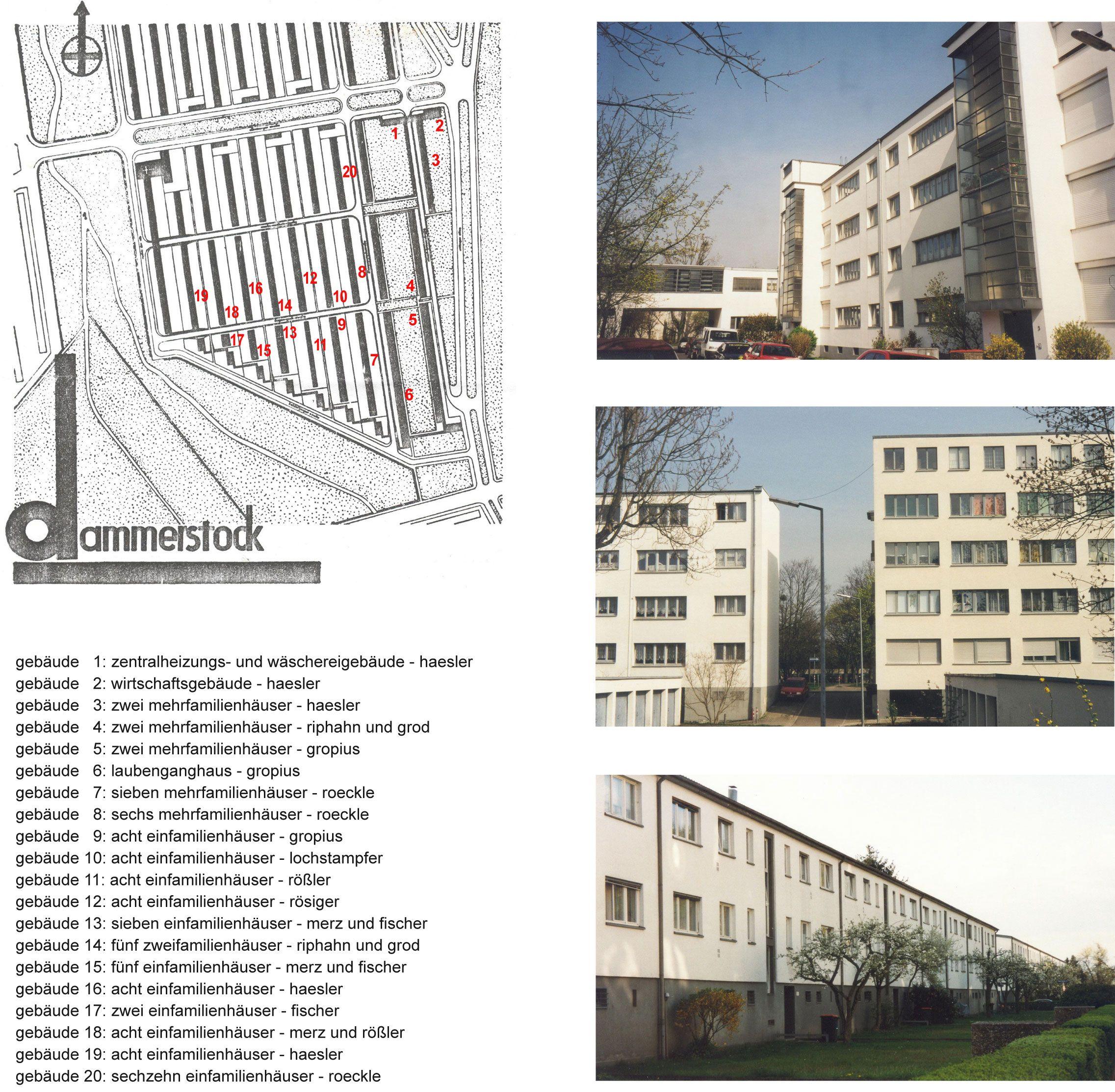 1927 1929 housing development karlsruhe dammerstock walter gropius arch xx neue. Black Bedroom Furniture Sets. Home Design Ideas