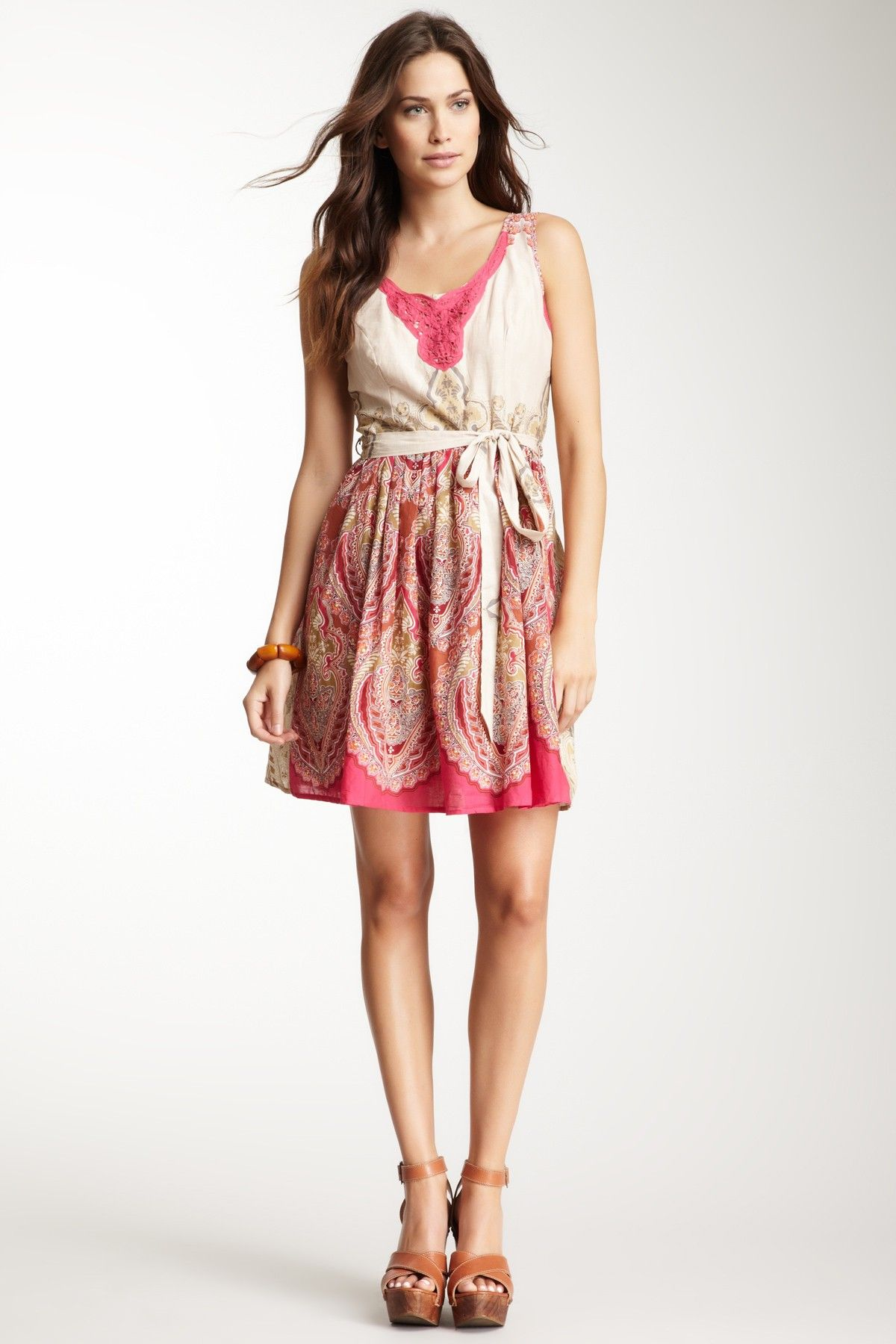 Crochet Trim Dress on HauteLook