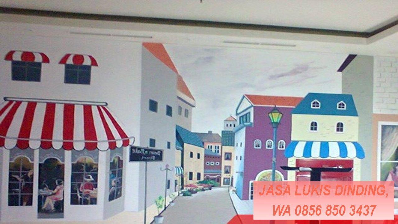 Jasa Lukis Dinding Cafe, Telp. 0856 850 3437, DAPATKAN