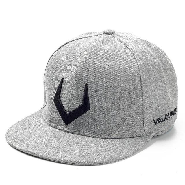 95c8345341666 High Quality Grey And Black Wool Snapback 3D Russian Antler V Letter  Embroidery Hip Hop Cap