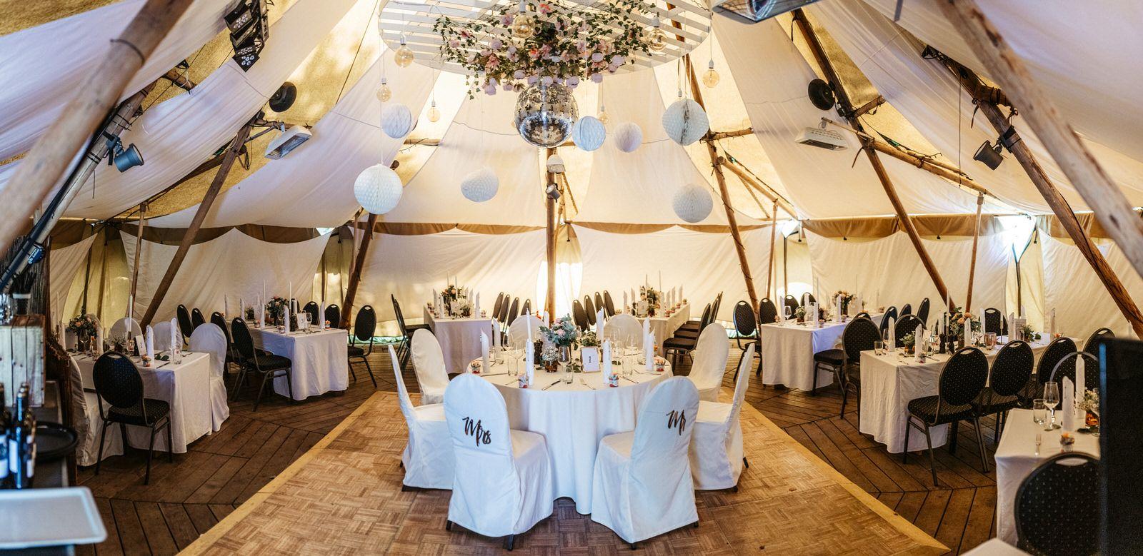 Heiraten Bei Uns Im Tipi Direkt Am Bistensee Hotel Feier Haus