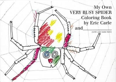Precision Series My Own Very Busy Spider Coloring Book ...