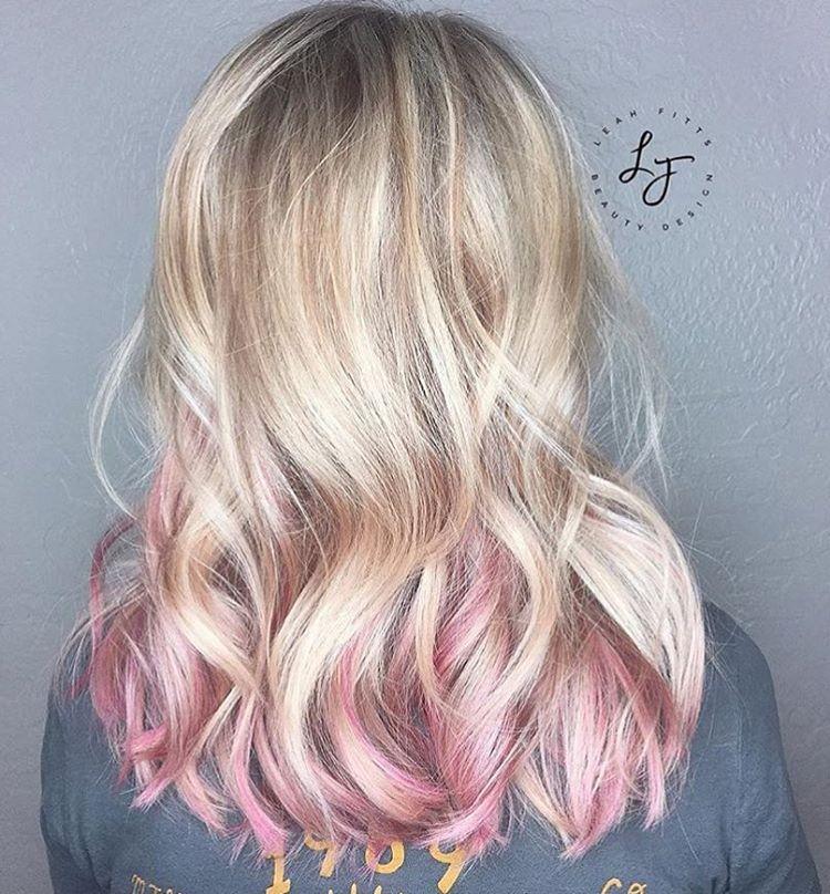 Pretty Pops Of Pink Regram Leahfittsbeautydesign