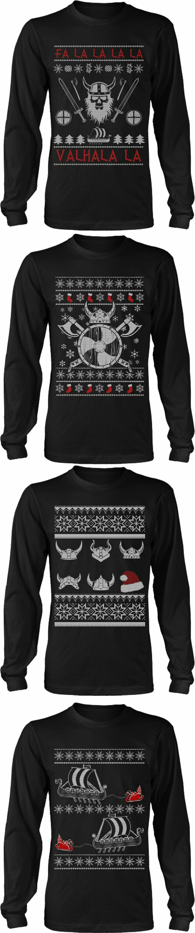 Ugly Christmas Sweaters 2020 Viking Pin on Clothing.