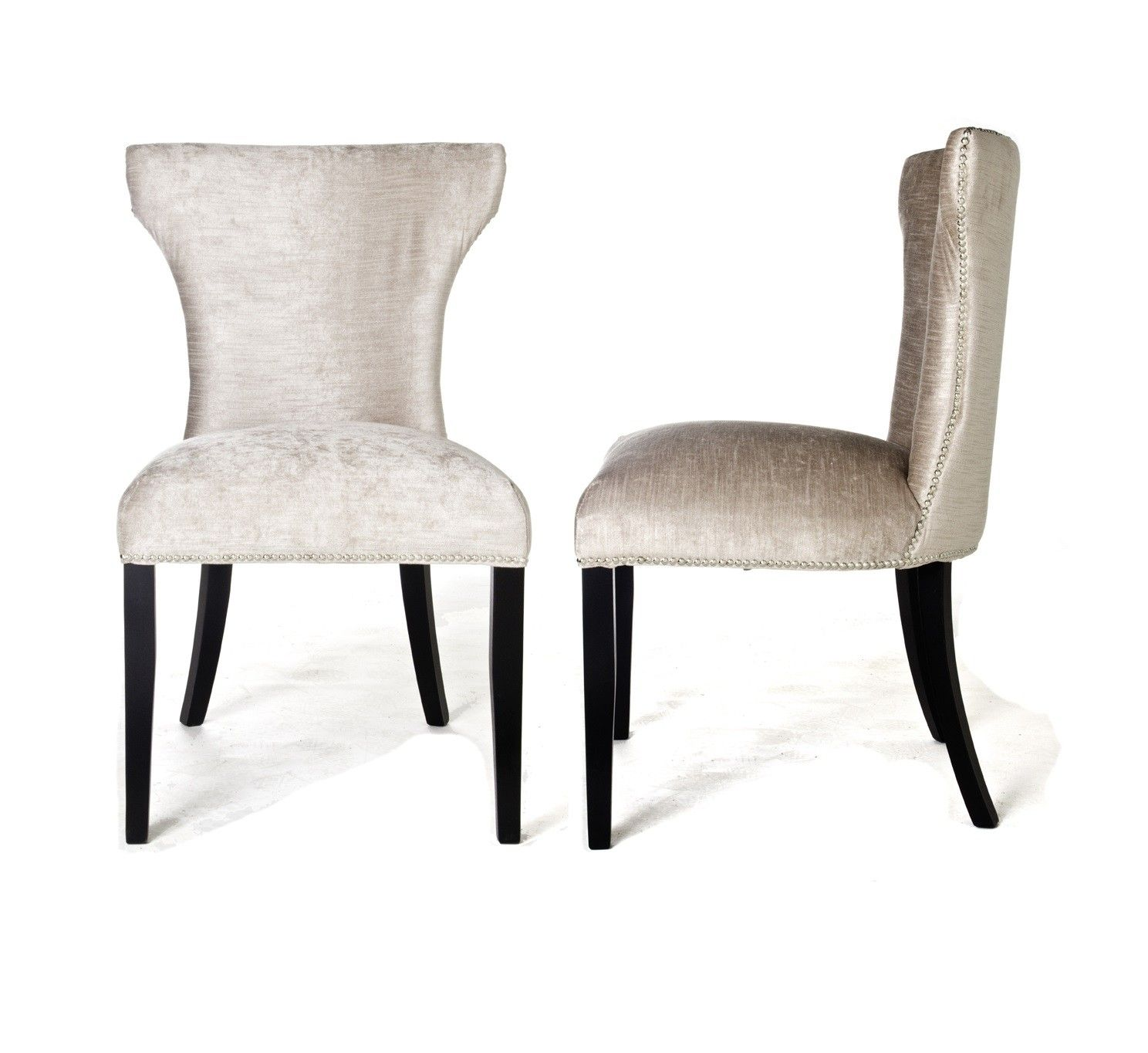 Luxury Windsor Gold Velvet Dining Chair Furniture Seating Cloth