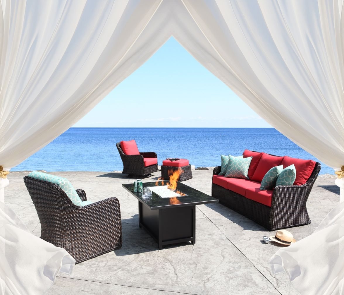 Dune Collection Luxurious Outdoor Wicker Patio Furniture ... on Dune Outdoor Living  id=27900