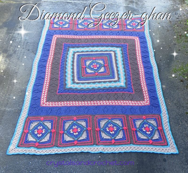 Diamond Geezer-ghan - Crystals & Crochet | croshapes | Pinterest