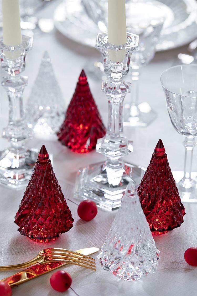 Pin By Aeµ A Ea On Christmas Red Christmas Christmas Table Settings Christmas Table