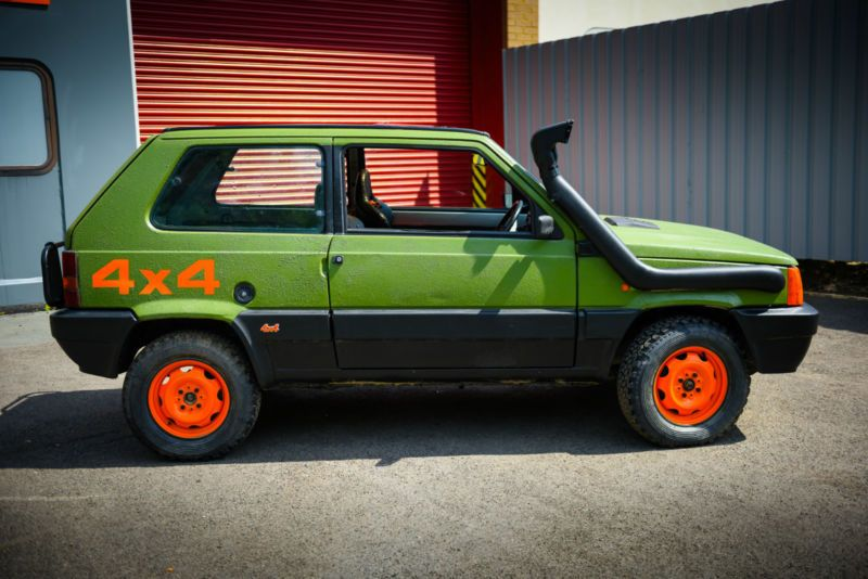 1989 fiat panda 4x4 to be featured on wheeler dealers cars pinterest. Black Bedroom Furniture Sets. Home Design Ideas