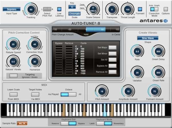 Auto-Tune v8 1 1 VST3 WiN-AudioUTOPiA, Win, VST3, Autotune