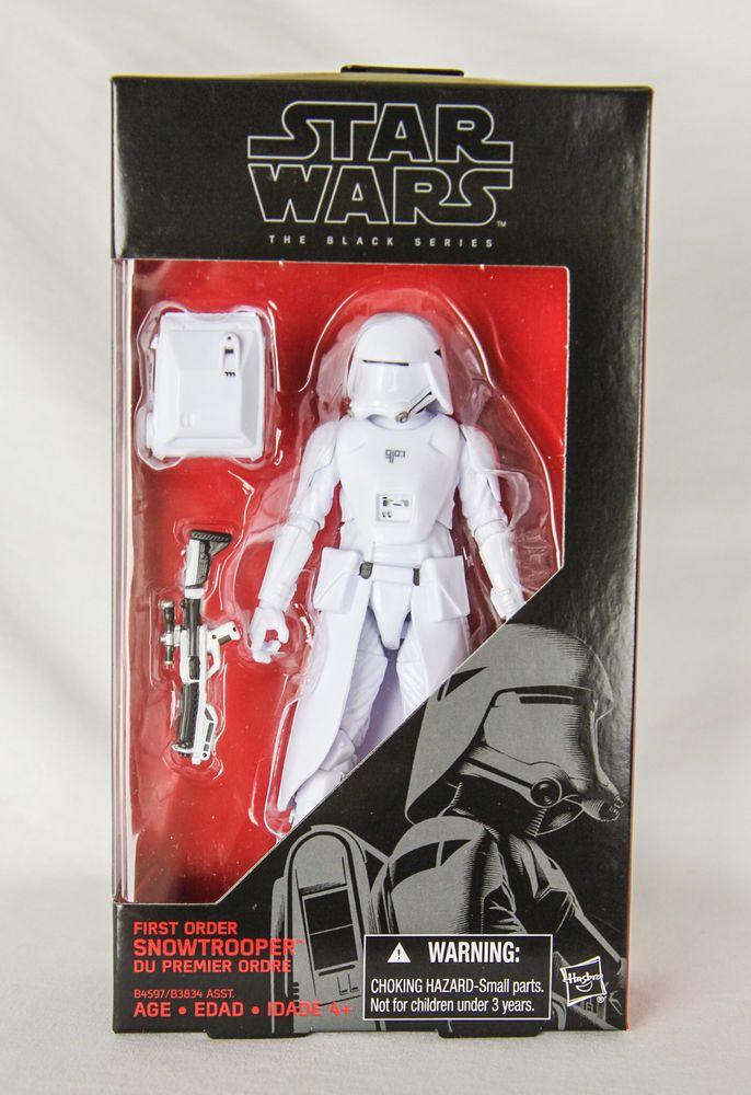 Hasbro Star Wars First Order Snowtrooper Black Series