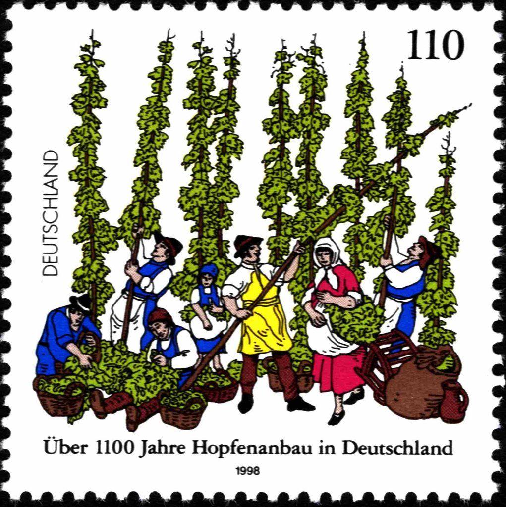 Deutschland 1998 Über 1100 Jahre Hopfenanbau in