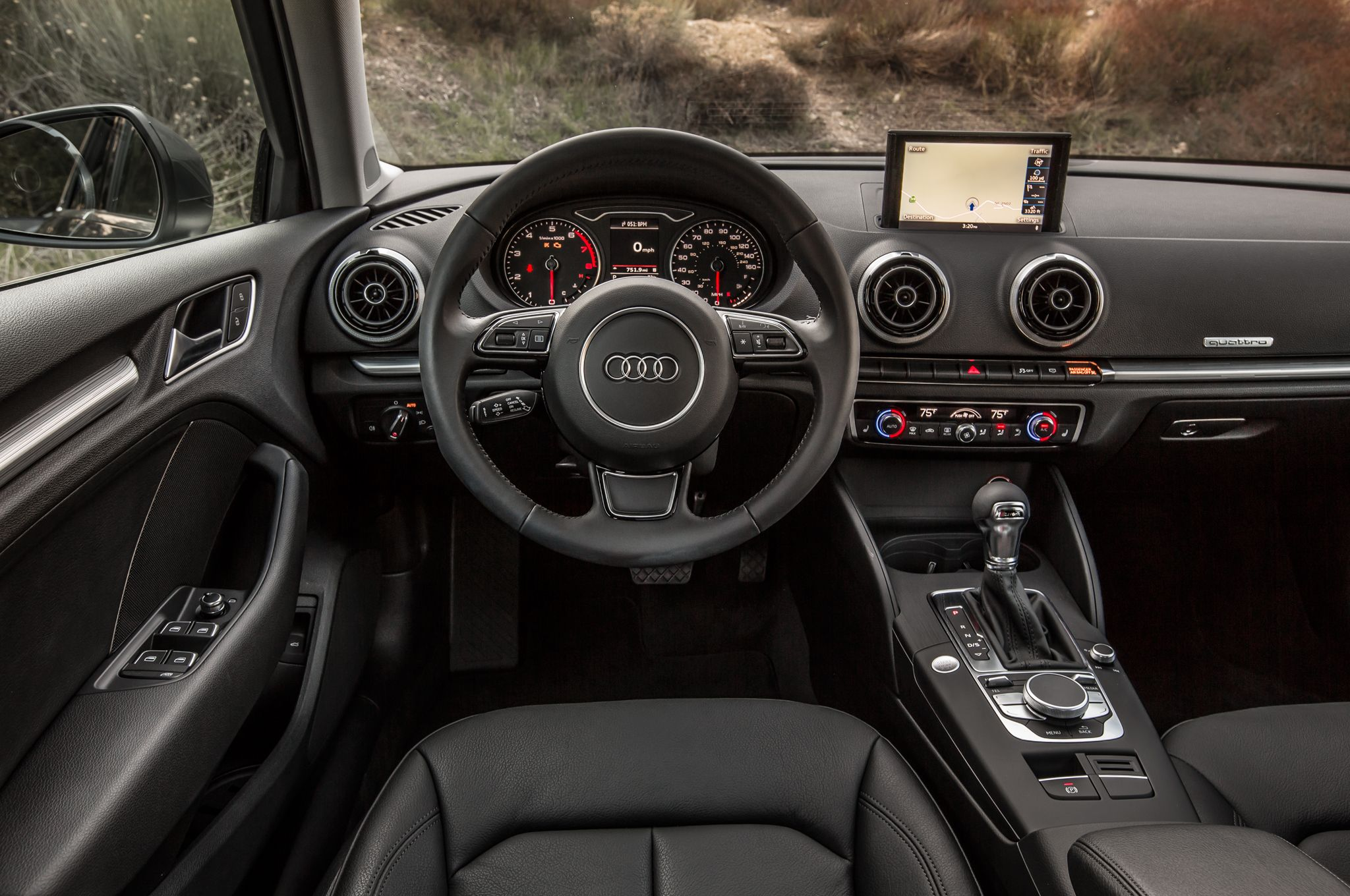 Audi A3 sedan black interior | Wishlist | Pinterest | Audi a3 sedan ...
