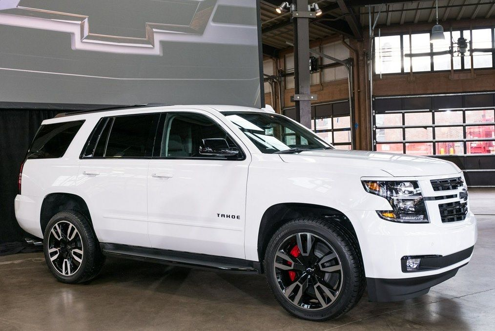 Chevy Tahoe And Suburban Vehicles Now Available As Rally Sport