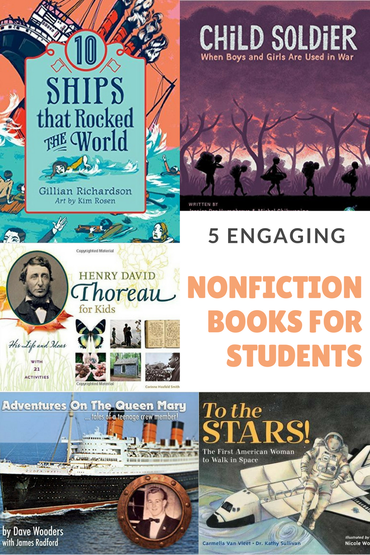 5 Engaging Nonfiction Books For Students Kovescence Of The Mind