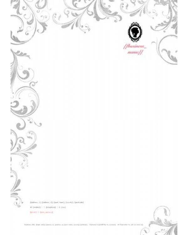 Beauty salon a4 stationery template designs we like pinterest choose from thousands of ready made business card flyer leaflet letterhead and ncr pad design templates design and print online with free uk delivery on wajeb Image collections