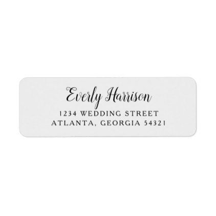Everly Wedding Label  Wedding Labels Weddings And Unique Weddings