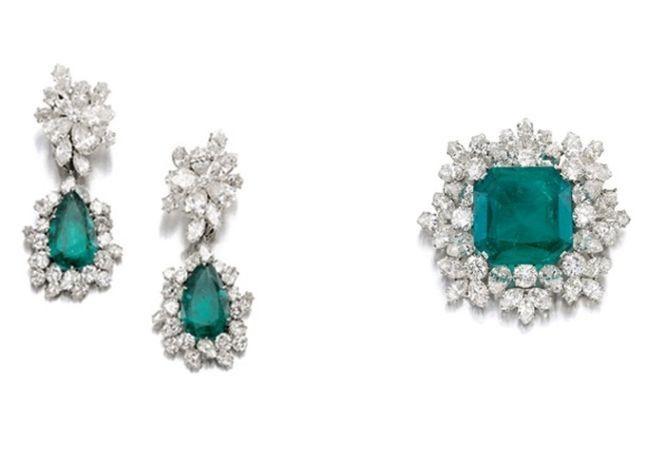 Las joyas de Gina Lollobrigida a subasta en Sotheby´s Ginebra