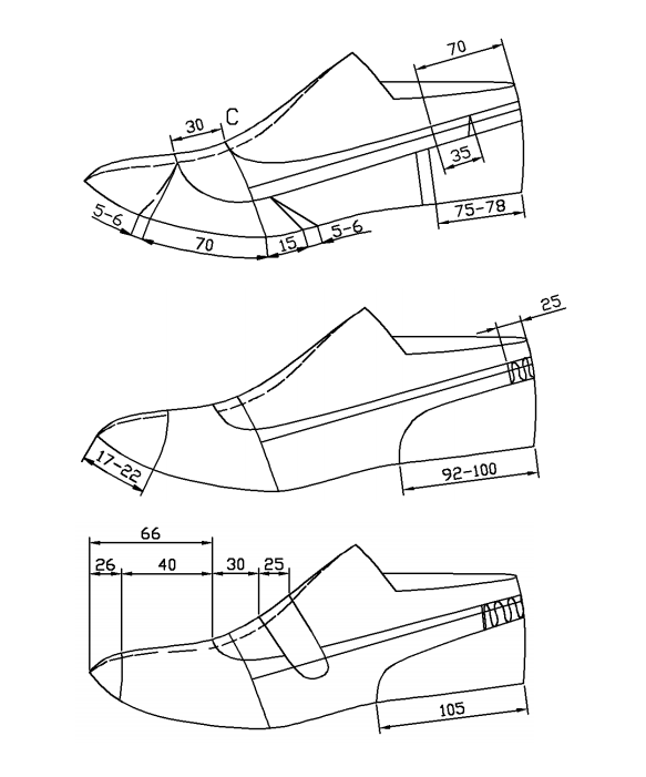 PDF file of footwear/shoe(pumps, derby, loafers,oxfords