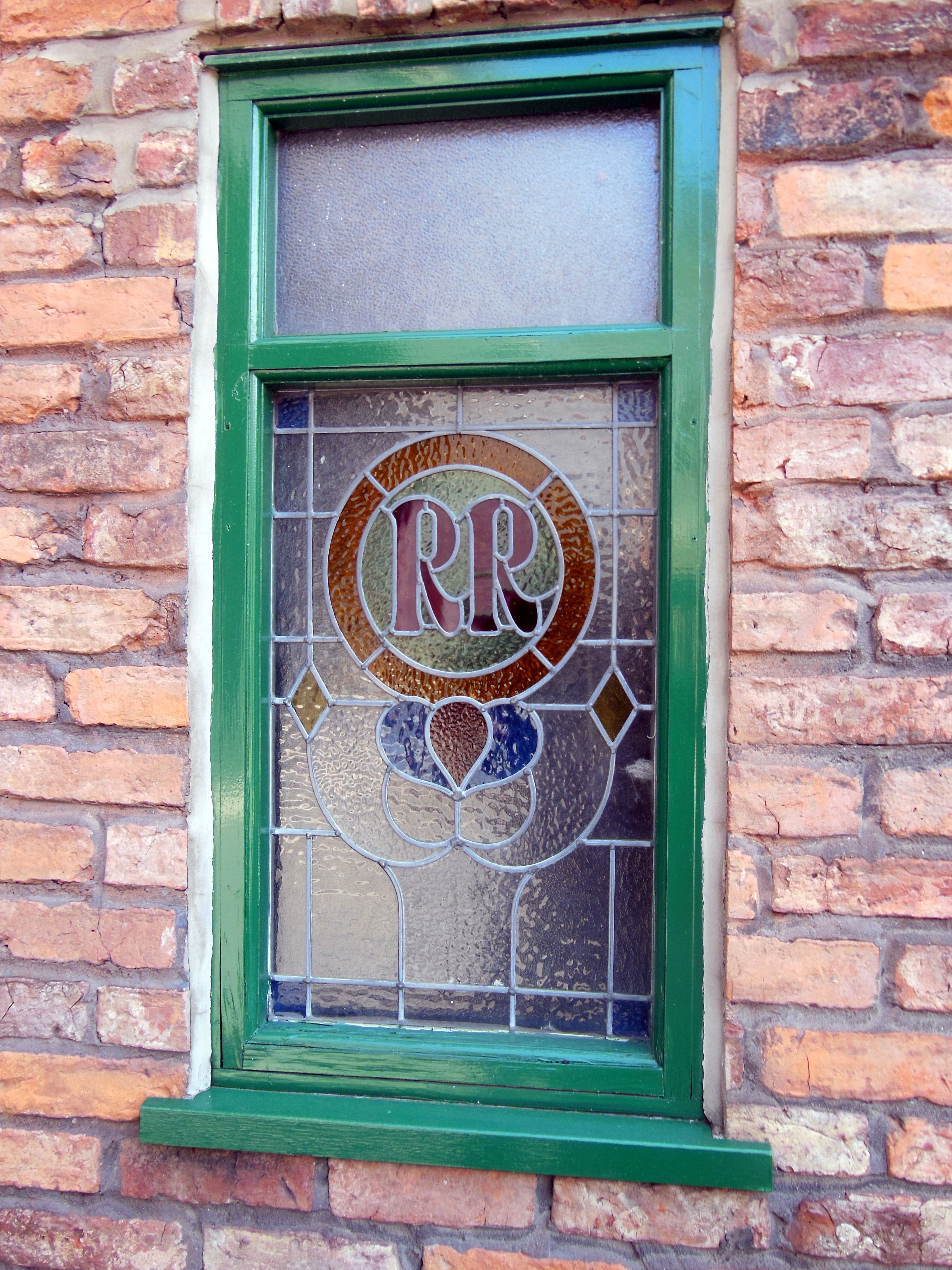 Rovers Return Window From The Tour Of The Coronation