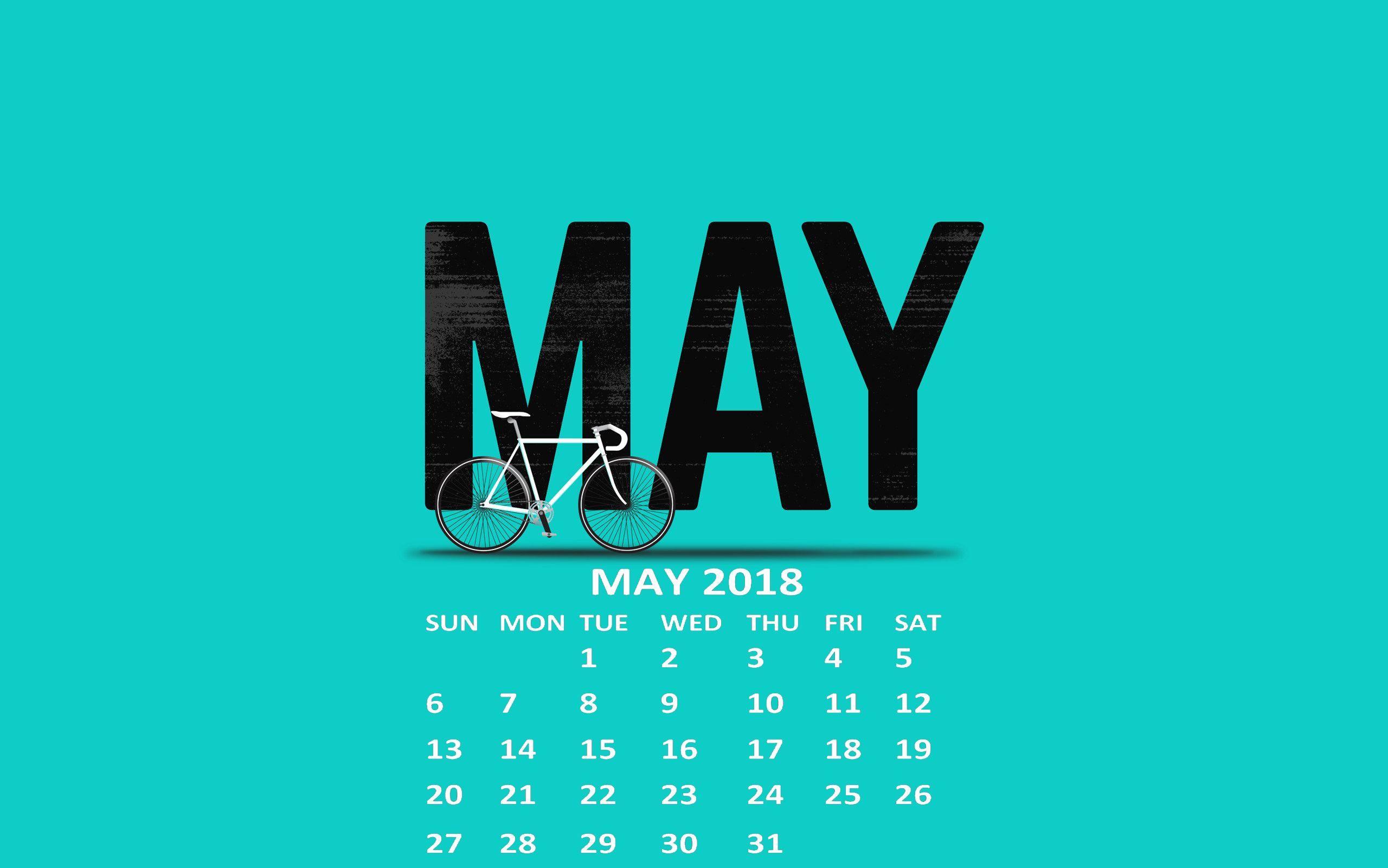 May 2018 Calendar Wallpapers