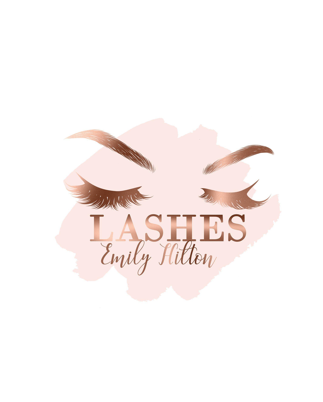 Lashes Logo Makeup Logo Brows Logo Salon Logos Eyelashes Logo