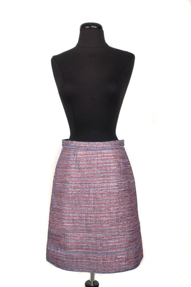 Multi-color Polyester Skirt