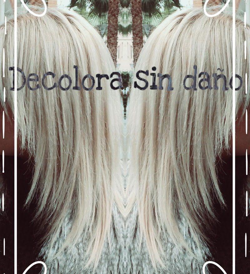 Decolora tu cabello a platino o blanco sin apenas maltrato hair pinterest cabello blanco - Rubio platino en casa ...