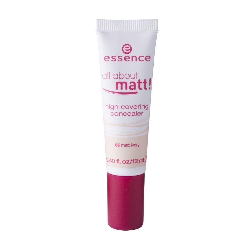 199 Essence All About Matt 05 Matt Ivory High Covering Concealer