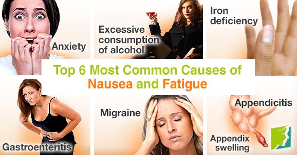nausea anxiety fatigue