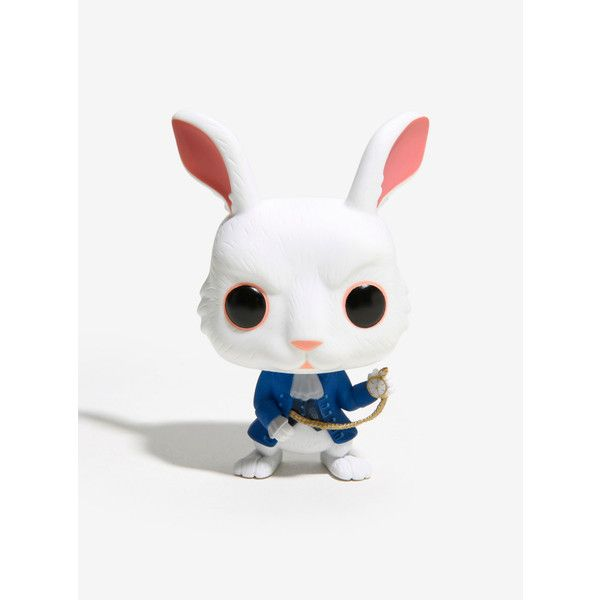 Funko Pop Alice Through The Looking Glass Mctwisp Vinyl Figure 11 Liked On Polyvore Featuring Home Home Decor Acces Vinyl Figures Vinyl Rabbit Figurine