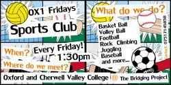 OX1 Fridays - Student Hubs