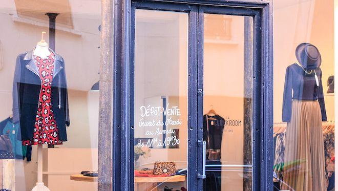 La Cloakroom : un dépot-vente chic à Bastille