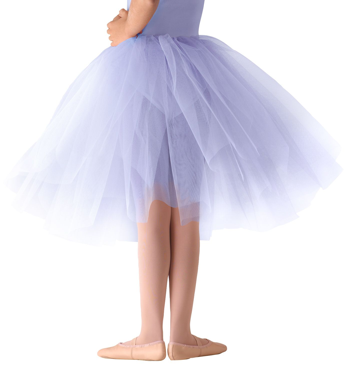 67a496b507e This beautiful romantic length tutu features 2 layers of firm polyester  tulle.