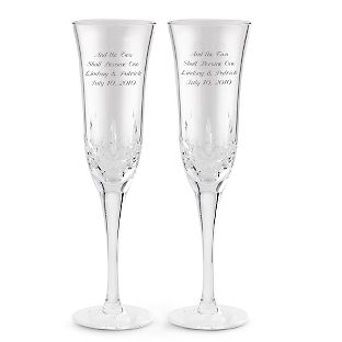 Love the idea of personalizing the toasting flutes! A night to remember!