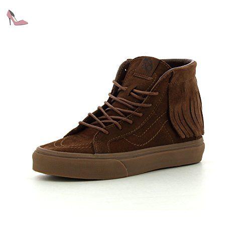 Vans Sk8 Hi Moc Chaussure brown Femme