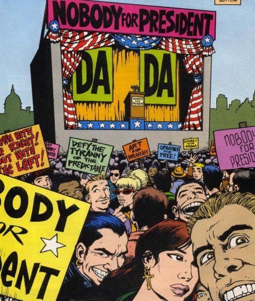 Mr Nobody of the Brotherhood of Dada runs for President ...