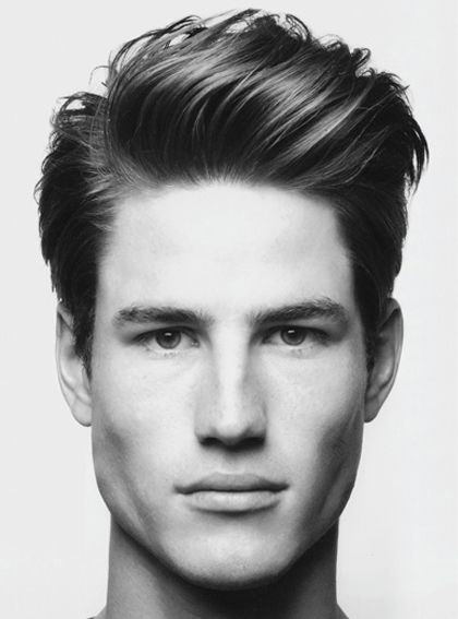 Peinados hombre pelo lacio con tupe hombre pelo corto - Como hacer peinados hombre ...