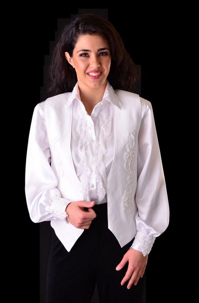 Western Wedding Sequined Formal Vest: Western Wear | Women Western ...